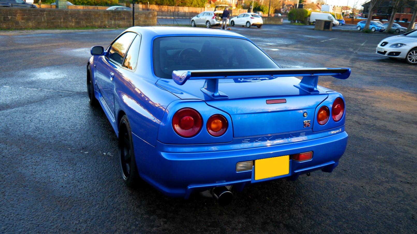 1999 Nissan Skyline R34 GTR 6 Speed Manual - JM-Imports