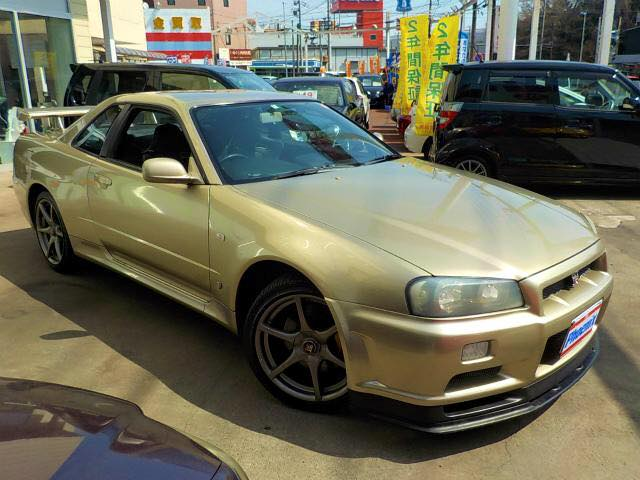2001 Nissan Skyline R34 GTR M-Spec 6 Speed Manual