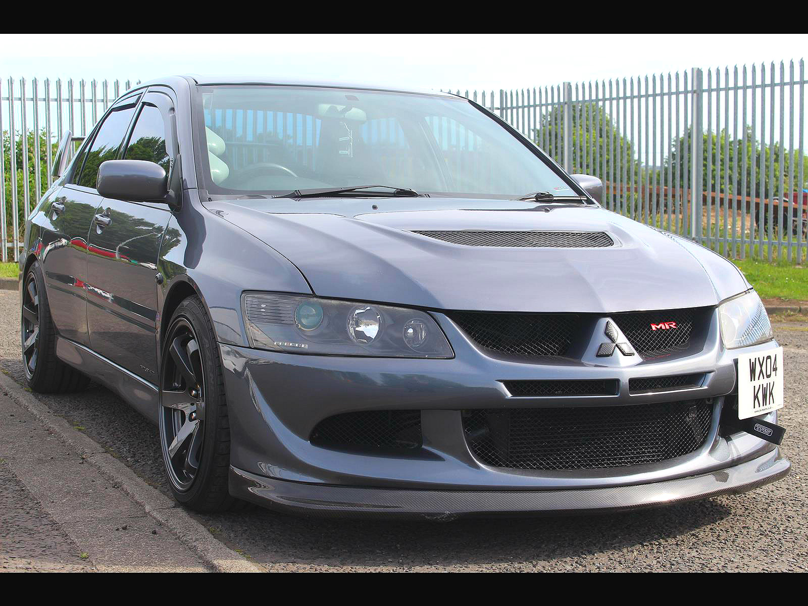 2004 mitsubishi evo 8 mr fq340 400bhp 6 speed manual. Black Bedroom Furniture Sets. Home Design Ideas