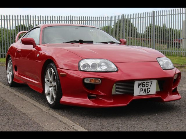 1994 Toyota Supra RZ 6 Speed Manual 430 Bhp Hybrid turbos