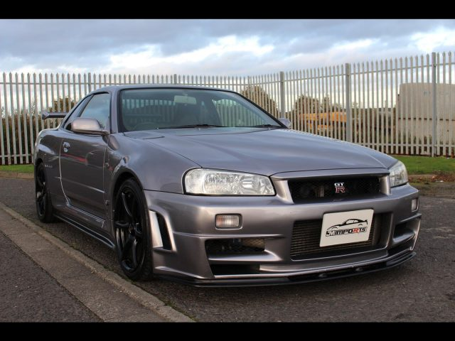 2002 Nissan Skyline R34 GTR V-Spec 650 Bhp UK Model Number 63