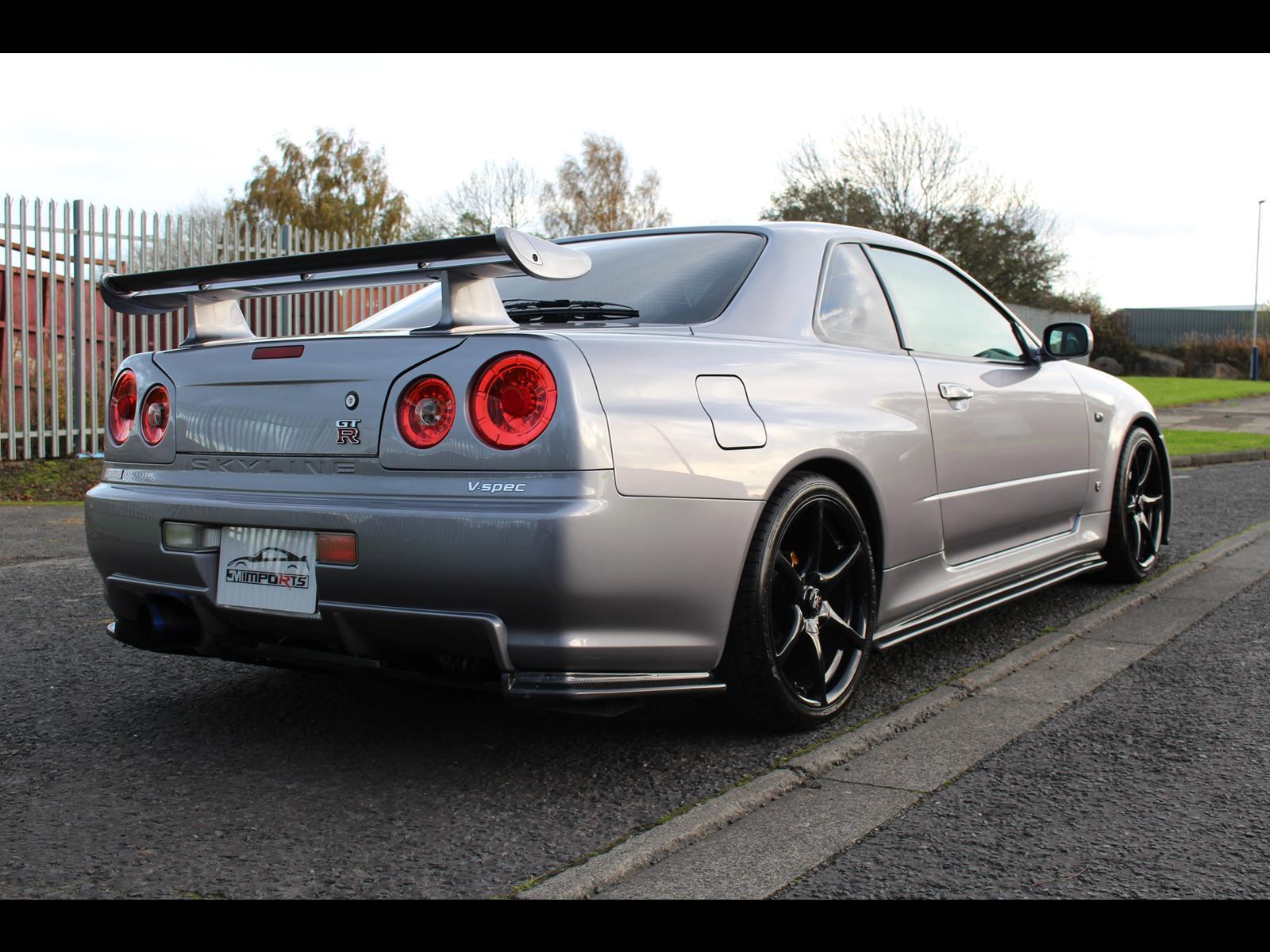 2002 Nissan Skyline R34 GTR V-Spec 650 Bhp UK Model Number ...