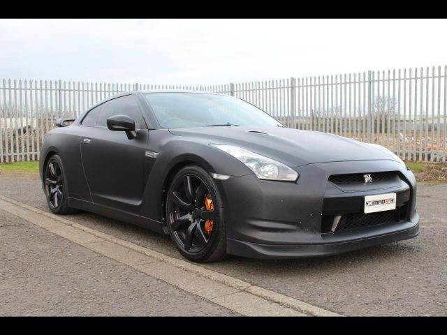 2008 Nissan R35 GTR JDM Model UK Sat Nav Upgrade