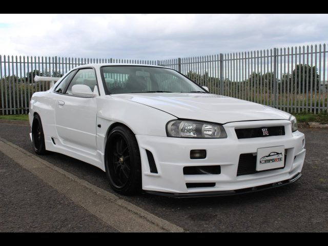1998 Nissan Skyline R34 GTT GTR Z-Tune Front End 320PS