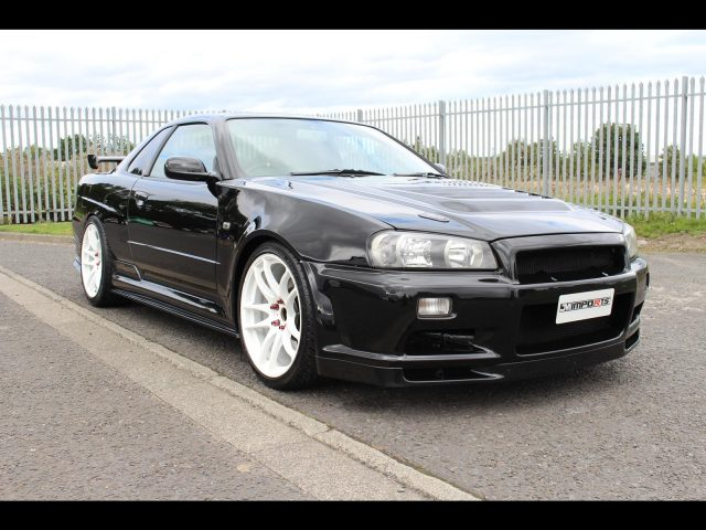 1998 Nissan Skyline R34 GTT GTR Front End 5 Speed Manual