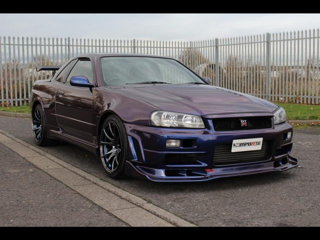 1999 Nissan Skyline R34 GTR V-Spec 600PS 6 Speed MNP III