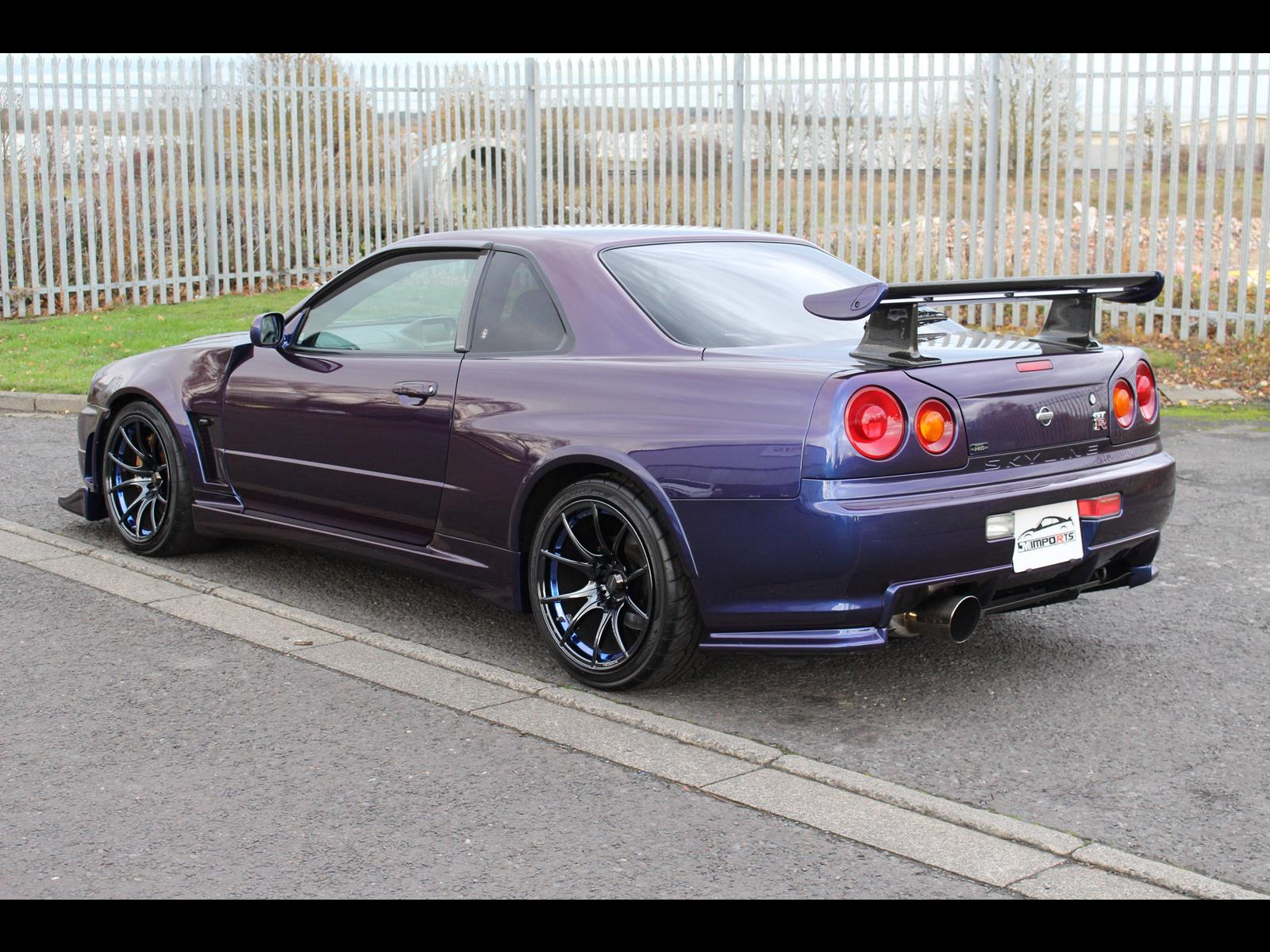 1999 Nissan Skyline Gtr R34 For Sale >> 1999 Nissan Skyline R34 GTR V-Spec 600PS 6 Speed MNP III ...
