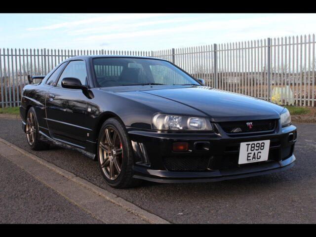 1998 Nissan Skyline R34 GTT 5 Speed
