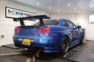 Nissan Skyline GTR Dyno Rolling Road