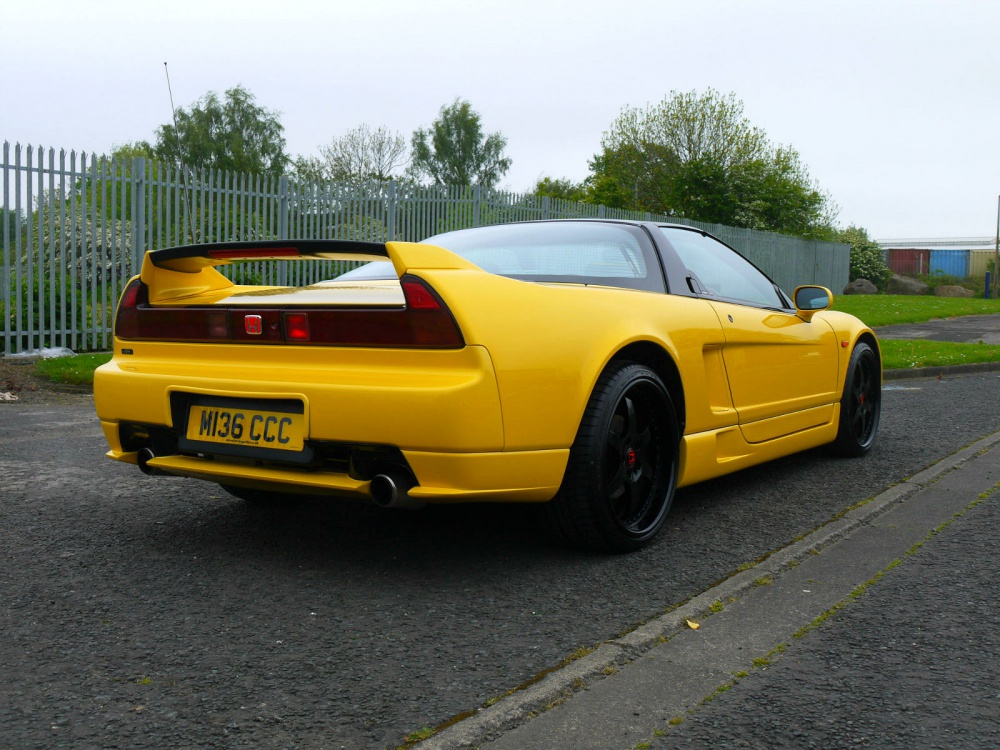 1995 Honda Nsx Uk Spec 5 Speed Pearl Yellow Jm Imports