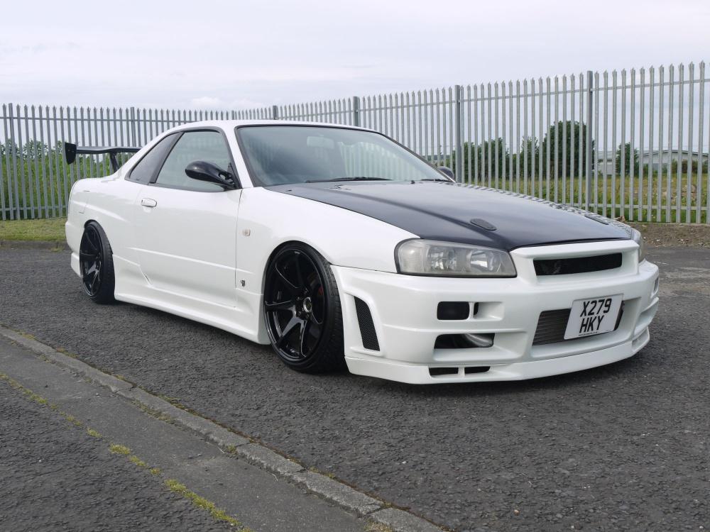2000 Nissan Skyline R34 Gt Turbo Drift Style R34 Looks
