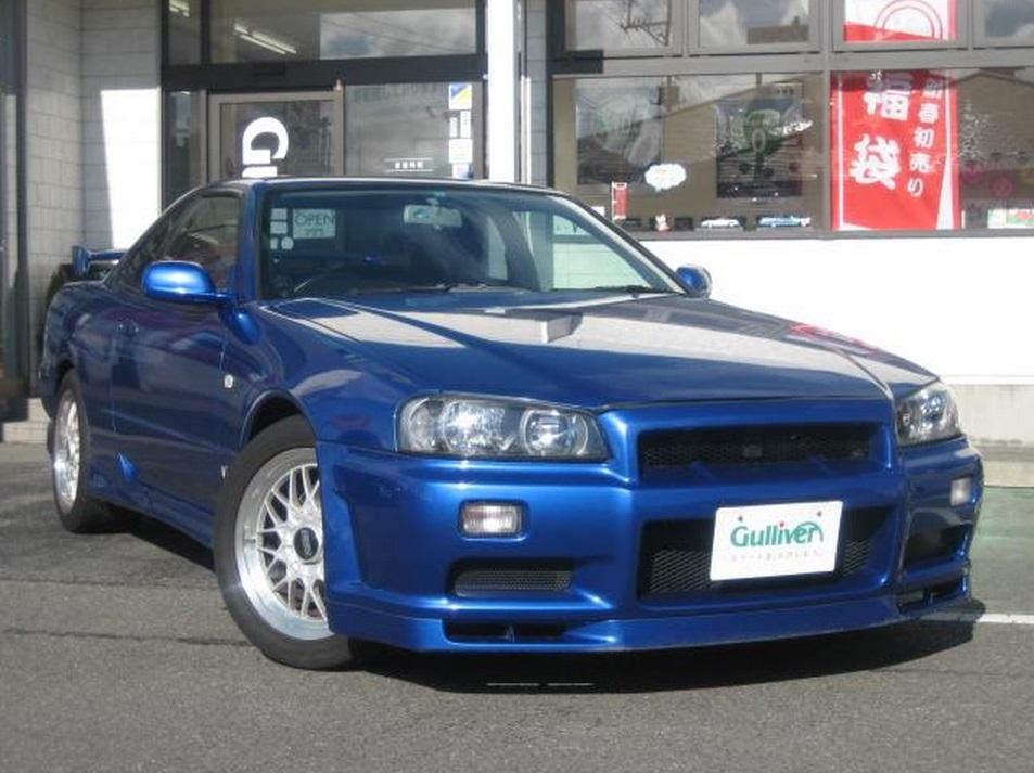 skyline gt t r34_1999 Nissan Skyline R34 GT-T GTR front conversion - JM-Imports