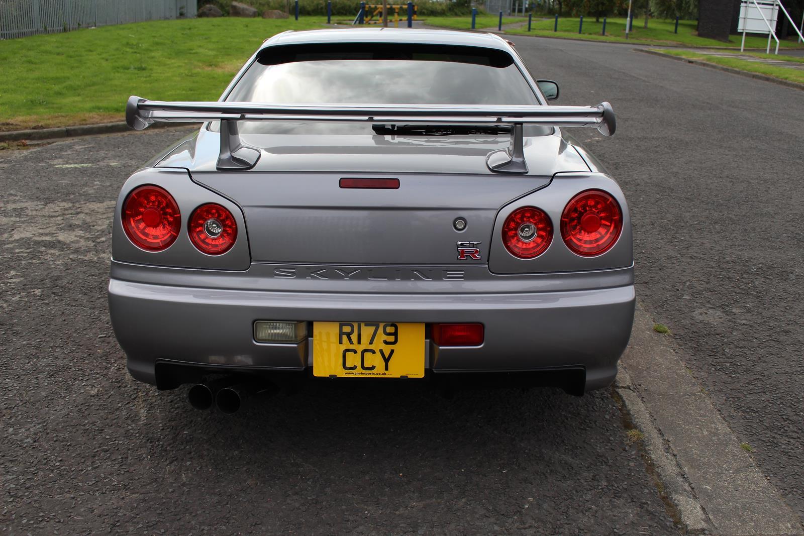 Nissan Skyline Gtr For Sale >> 1998 Nissan Skyline R34 GT-T 400PS GTR Front - JM-Imports